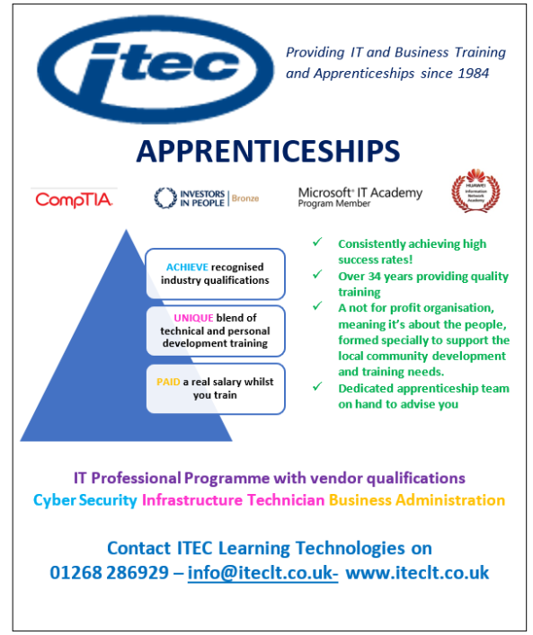 ITEC Advert March 2018